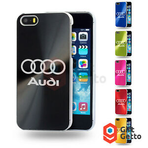 Audi-Q5-Q7-TT-A4-A5-Car-Logo-Engrave-Personalized-Metal-Cover-Case-iphone-5-5s