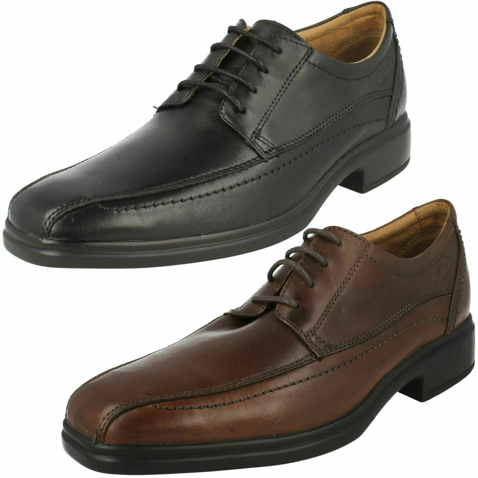MENS LEATHER OVER GLEVO schuhe UP LACE FORMAL CASUAL WORK
