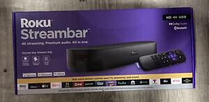 Roku Streambar 9102R 4K HDR Media Streamer - New