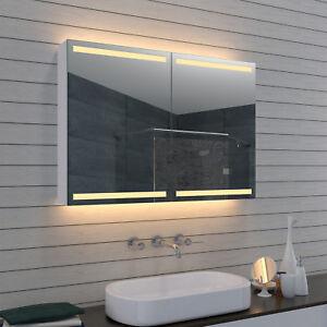 Moderner Led Spiegelschrank Nach Mass Ndash Einbau Moglich Der