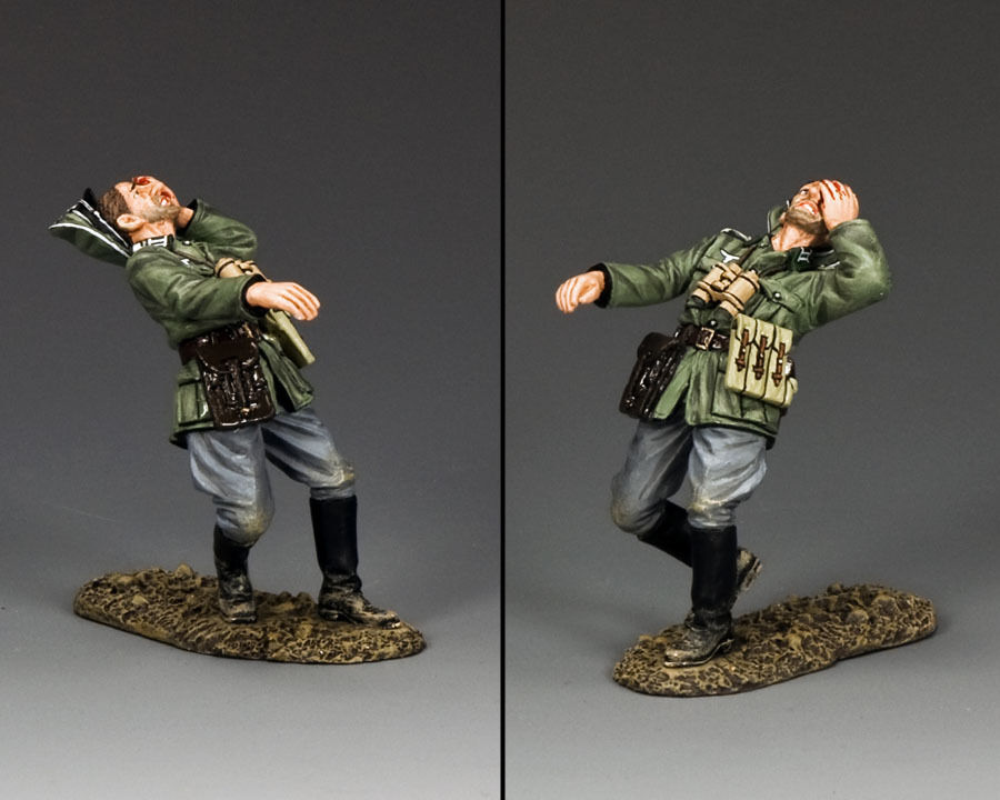 KING AND COUNTRY German Officer being shot WSS274 WS274