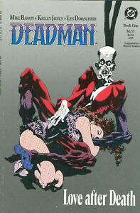MIKE BARON DEADMAN LOVE AFTER DEATH BOOK ONE NM