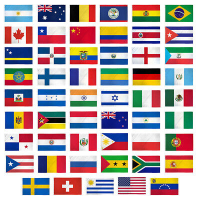 "12x18 12/""x18/"" Country of Colombia Boat Motorcycle Premium Quality Flag Grommets"