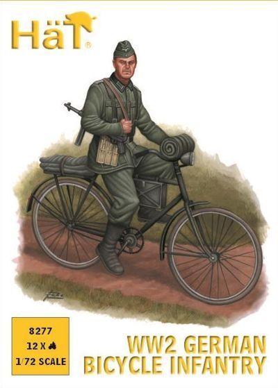 Hat - WW2 German bicycle infantry - 1:72