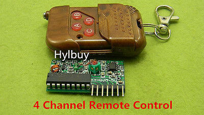 DC 5V Wireless Remote Control Switch Module RF Switch Transmitter + Receiver