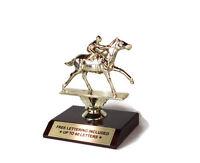 Horse Racing Trophy- Racetrack- Jockey- Desktop Series- Free Lettering