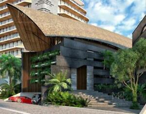 Casa en Venta en Cancún, Mansiones Shark Tower en  Puerto Cancún 4 Recámaras