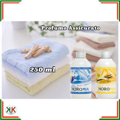 Profumo per bucato profuma biancheria Horomia 250 ml essenza bucato lavatrice   eBay