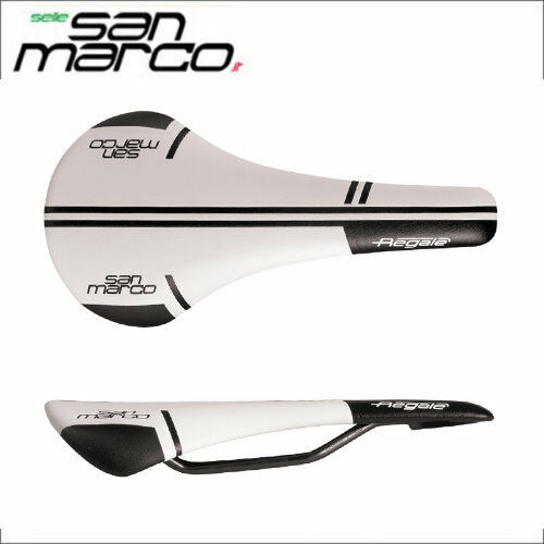 Selle San Marco REGALE Racing Narrow Saddle White 499LN003