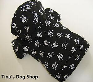 "Totenkopf Skull Hundejacke Hundebekleidung Hundemantel Pulli "" Tina´s Dog Shop"""