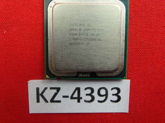 INTEL R CORE TM 2 CPU 4300 SOUND DRIVERS (2019)