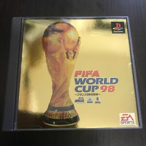FIFA WORLD CUP 98 France PS1 Soft  (Sony PlayStation 1) japan NTSC-J