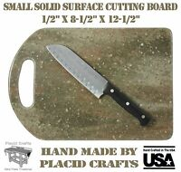 Hand Made Solid Surface (corian) Small Cutting Board / Scb123