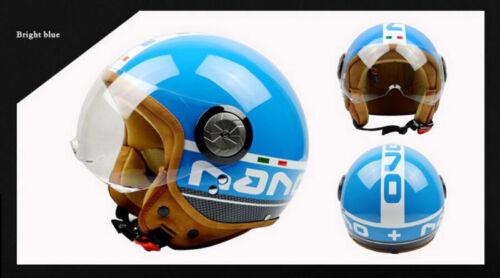 BEON B-110 Open Face Retro Helmet Motorcycle Helmet ECE Drop Down JET Helmet