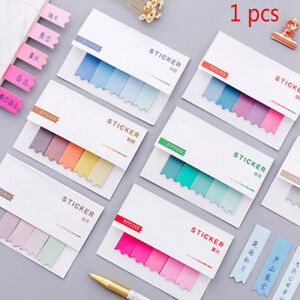 Sticky Notes Office Bookmark Marker Memo Index Flags Tab Strip-Sticker