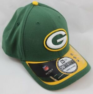 bb54d006ef2 Men s New Era Green Bay Packers Hat - Sideline 39THIRTY Stretch-Fit ...
