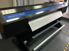 Used Soljet Pro 4 Xr 640 64 Eco Solvent Inkjet Printercutter