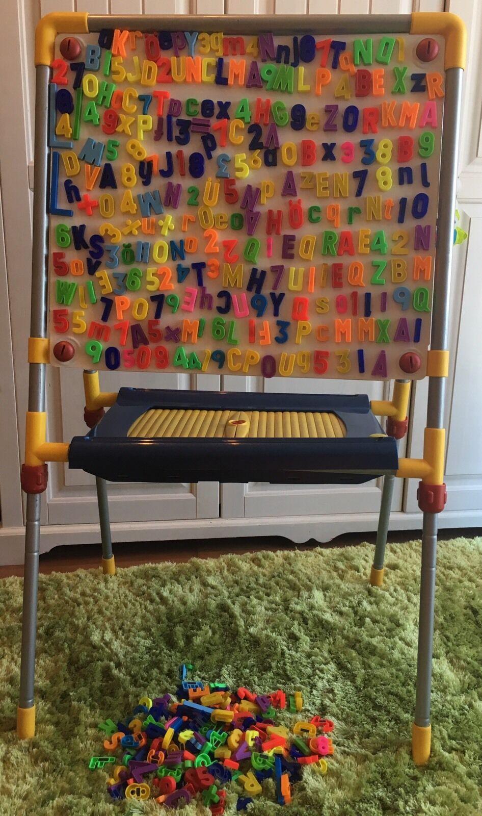 Magnettafel Tafel Kindertafel Standtafel Verstellbar Kreidetafel Weißboard