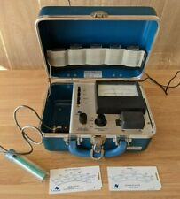 Complete Nalco Chemical Co Conductivity Meter Model A Water Field Tester