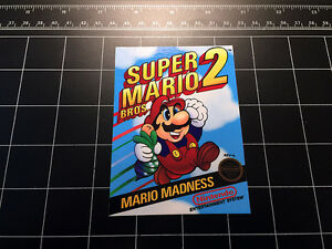 super mario bros 2 nes box art