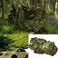 Camouflage-Camo-Army-Green-Net-Netting-Camping-Military-Hunting-Woodland-Leaves thumbnail 2