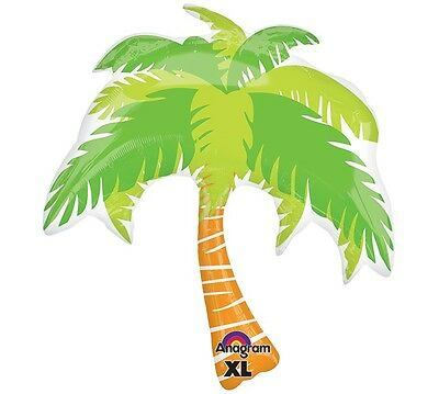 Summer Scene PALM TREE Luau Tropical Beach Pool  Party Balloon Decoration