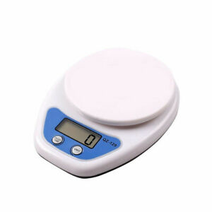 Digital-Kitchen-LCD-Electronic-Home-Food-Cooking-Scales-Postal-Weighing-5kg-JI1