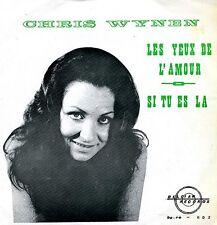 Chris Wynen 45 Les Yeux de l'Amour - Rare Belgian Femme Chanson - HEAR