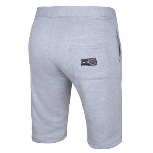 Gym Men's Casual Sweat Fleece Shorts Jogging Bottoms Joggers MMA Boxing Fitness