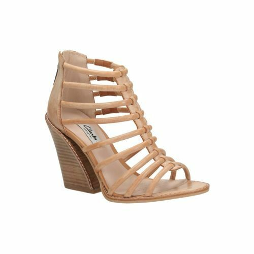 Rrp Tan Size Bebe Light £70 Leather 5 D Ladies Sarina Heels 38 Clarks PqSwHH