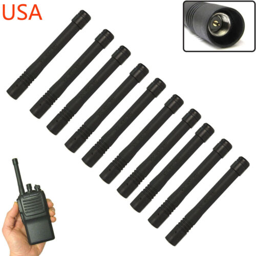 10x UHF Antenna For Vertex Standard Radios ATU-6DS VX-824 VX-829 VX-900 VX-920