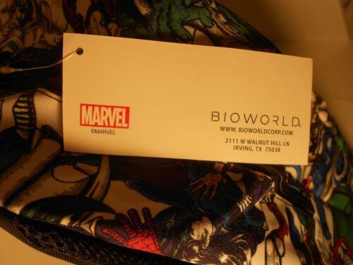 Thor Marvel AVENGERS BACKPACK Iron Man Dr Thanos Hulk Spider-Man Strange