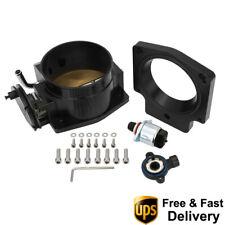 102mm Throttle Body Tps Iac Intake Manifold Adapter Plate For Gm Ls1 Ls2 Ls6