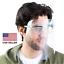 Safety Face Shield Reusable Goggle Visor Transparent Anti-Fog Layer Protect Eye