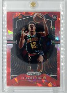 2019-20-Panini-Prizm-Red-Ice-De-039-Andre-Hunter-Rookie-RC-251-Hawks-Parallel
