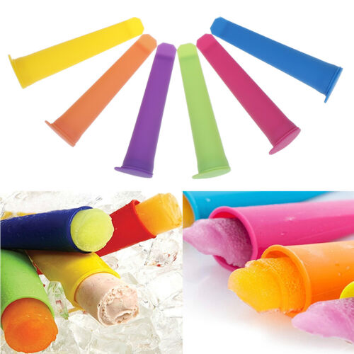 Silicone Push Up Frozen Stick Ice Cream Yogurt Jelly Lolly Maker Mould