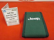 JEEP WRANGLER JK Hard Top Soft Top and Door Removal TOOL Kit NEW OEM MOPAR
