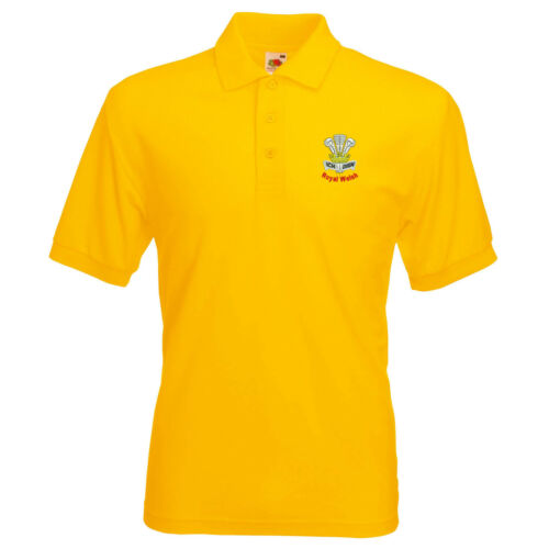 Régiment Royal Welsh Polo Logo Brodé