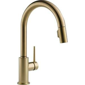 Delta-9159-CZ-DST-Trinsic-1-Handle-Pull-Down-Kitchen-Faucet-in-Champagne-Bronze
