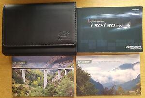 genuine hyundai i30 i30 cw owners manual handbook wallet 2007 2012 rh ebay co uk Corvette Owners Manual user manual hyundai i30 cw