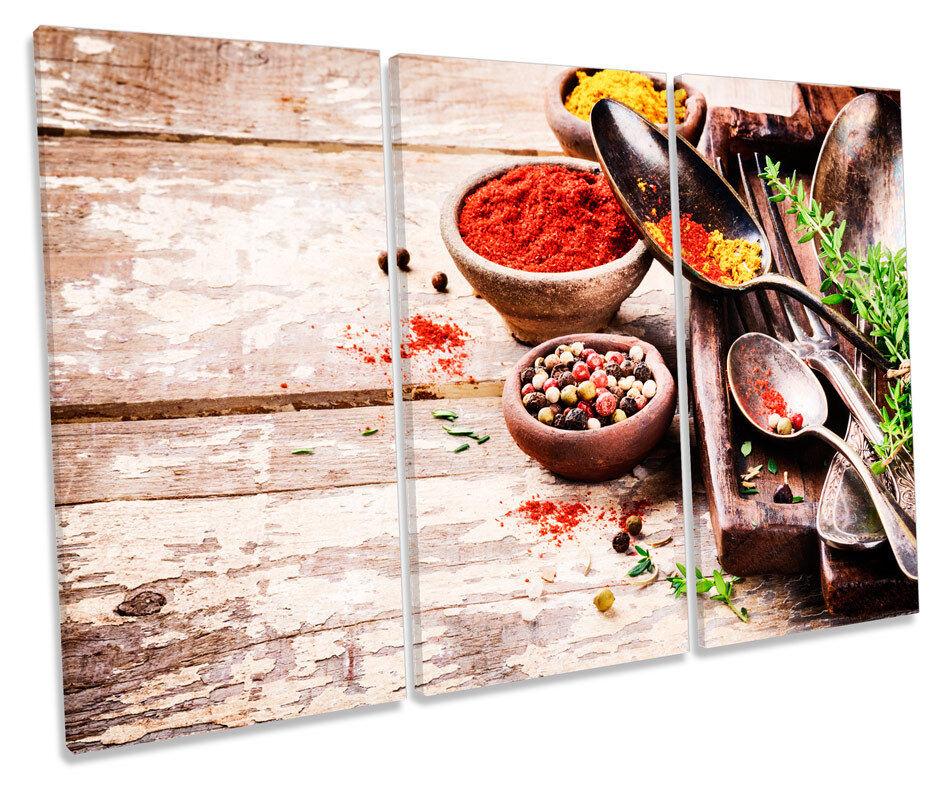 Kitchen Cooking Ingrotients Picture TREBLE CANVAS WALL ART ART ART Print 8bebc1