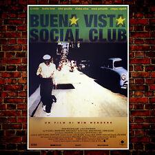 Movie Poster Buena Vista Social Club - 70x100 CM - Wim Wenders