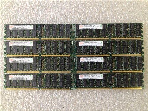 8x 4GB PC2-5300P FOR HP PROLIANT DL385 G5p 32GB UPGRADE KIT