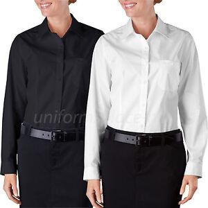 9aed01ac Dickies Shirts Womens Oxford Work Shirt Long Sleeve Service Shirts ...