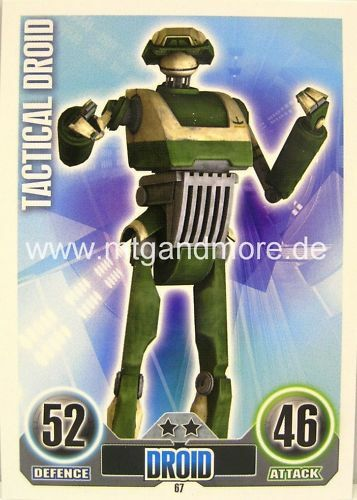 Star Wars Force Attax  Tactical Droid #067