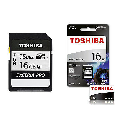 Toshiba EXCERIA PRO N401 95MB/s SD Card