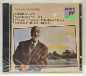 CD Charles Ives - Symphonies Nos. 1 & 4