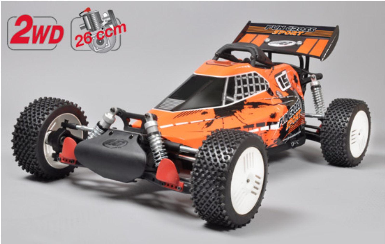 FG Modellsport  670070 gröschl DIVERTIUomoTO CROSS SPORT 2WD 26 CCM