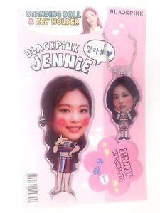 Jennie Blackpink Black Pink Photo Standing Doll Key Holder Kpop