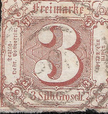 Thurn und Taxis 1861 MiNr. 17 Stempel mit  300 BPP durch Sem geprüft + signiert